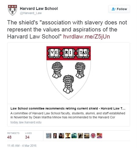 Harvard Law Tweet