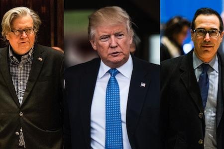 5 Ways of Looking at Trump's Love of Goldman Sachs Bankers Vault ...