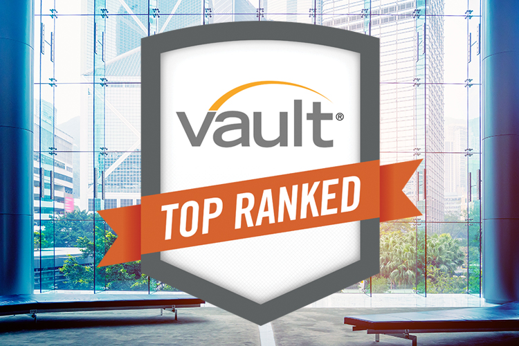 2018 Vault's Best Law Firms to Work For