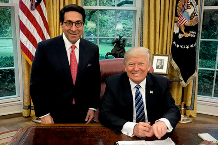 Jay Sekulow and Donald Trump