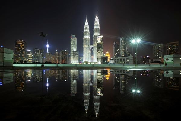Malaysia at night