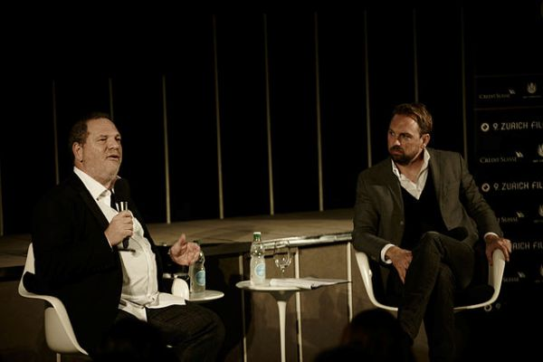 Harvey Weinstein at Q&A