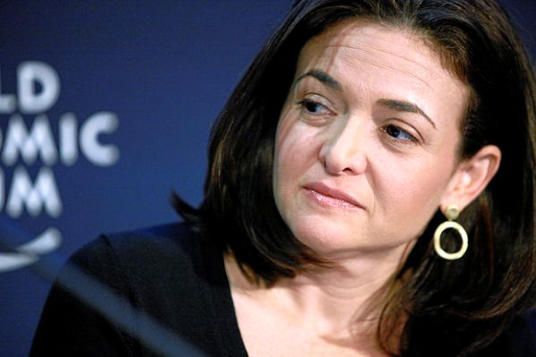 Sheryl Sandberg at World Economic Forum