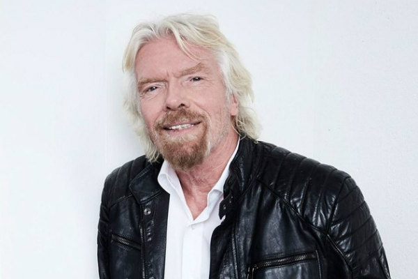Getty Image of Richard Branson