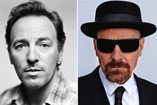 bruce springsteen and bryan cranston