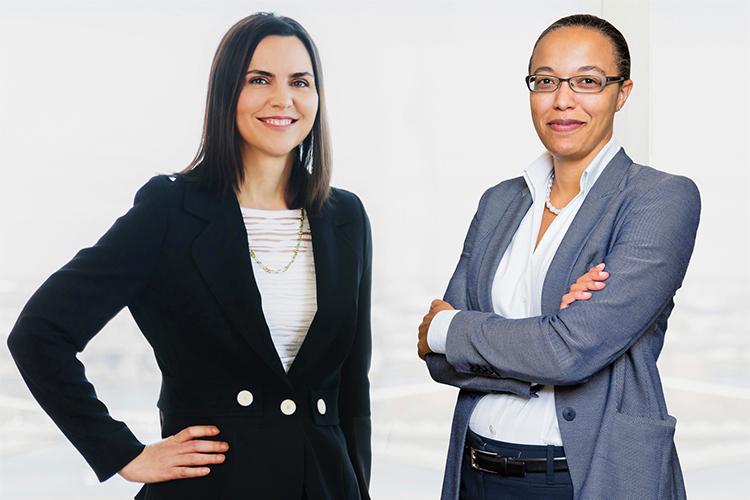 Inosi Nyatta and Melissa Sawyer