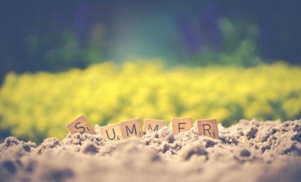 summer scrabble letters