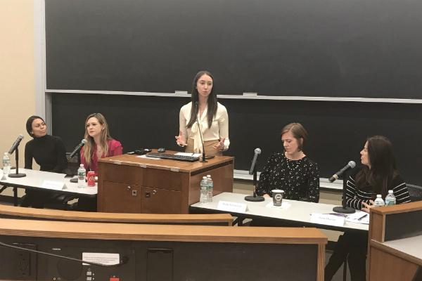 Columbia women's panel