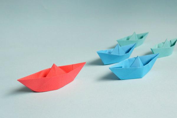 Cute Paper Boats