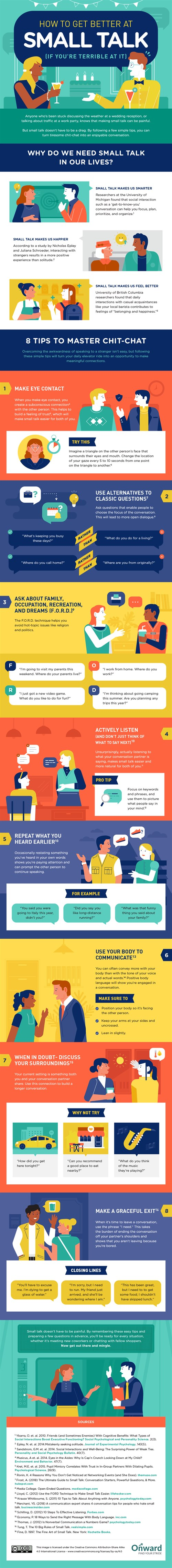How to Get Better at Small Talk